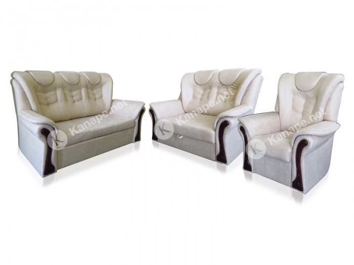 Real 3-2-1 bőr ülőgarnitúra - Kifutott termék - Luxus kanapé