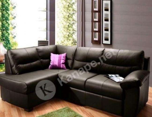 Jamilia L bőr kanapé