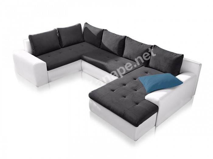 Toulon U alakú kanapé