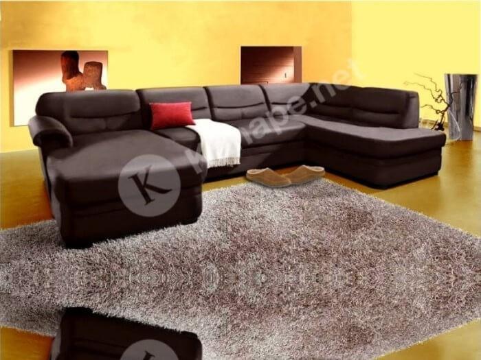 Carthago U kanapé - U alakú kanapé