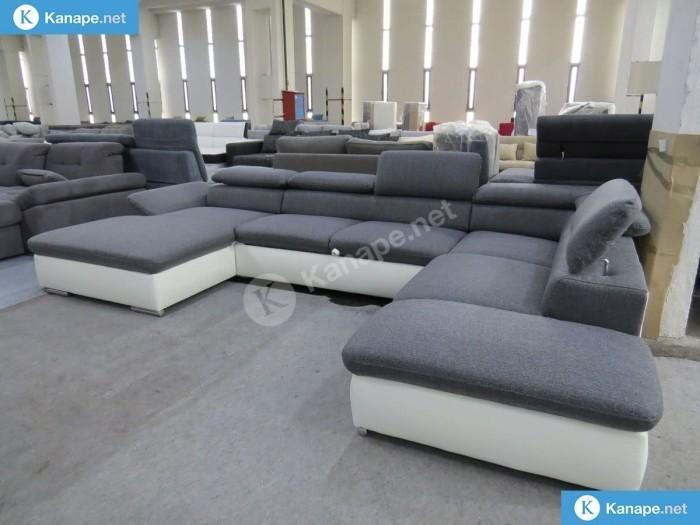 Alcuda U alakú kanapé