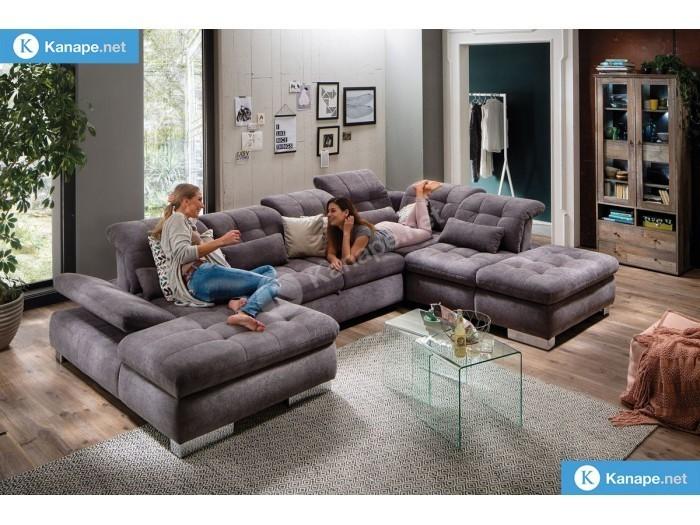 Artemisz U alakú kanapé - Kinyitható és ágyazható kanapék