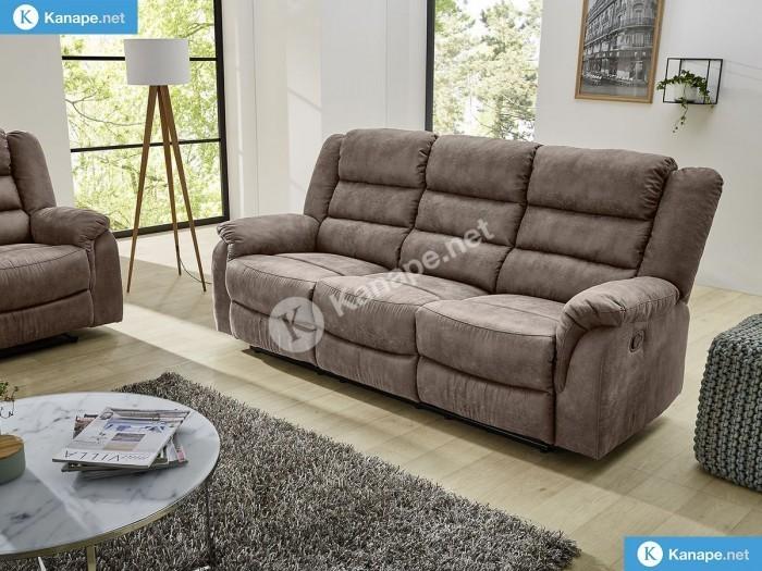 Cleveland 3 személyes relax kanapé - Luxus ülőgarnitúra