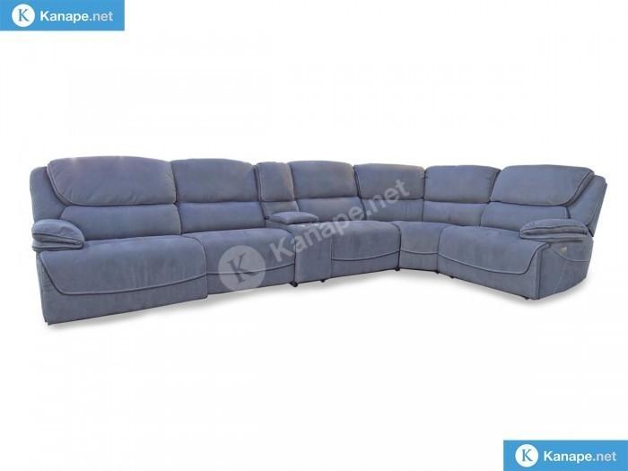Stark motoros relaxos szürke sarok kanapé - Összes termék