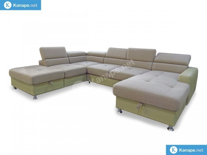 Sand U alakú kanapé - Luxus ülőgarnitúra
