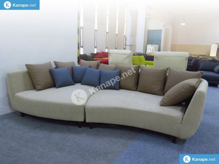 Jolina design egyenes kanapé - Bézs kanapék