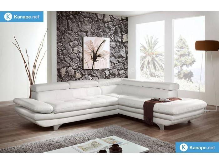 Enterprise sarok kanapé - Fehér kanapék