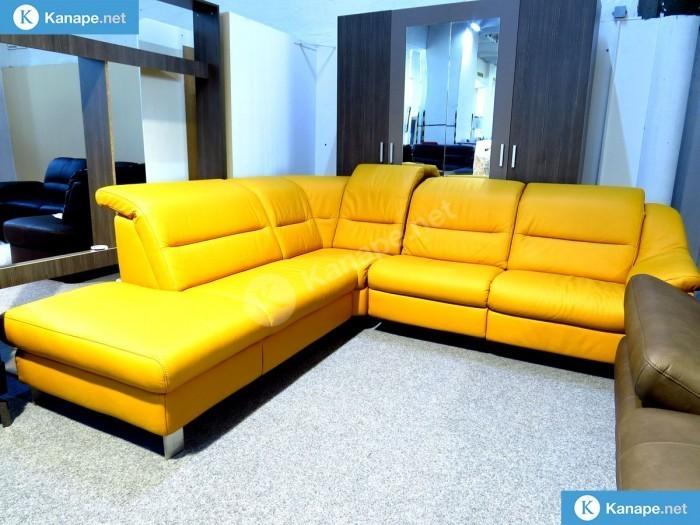 Doreen prémium motoros relax bőr sarokkanapé - Relax kanapék és ülőgarnitúrák