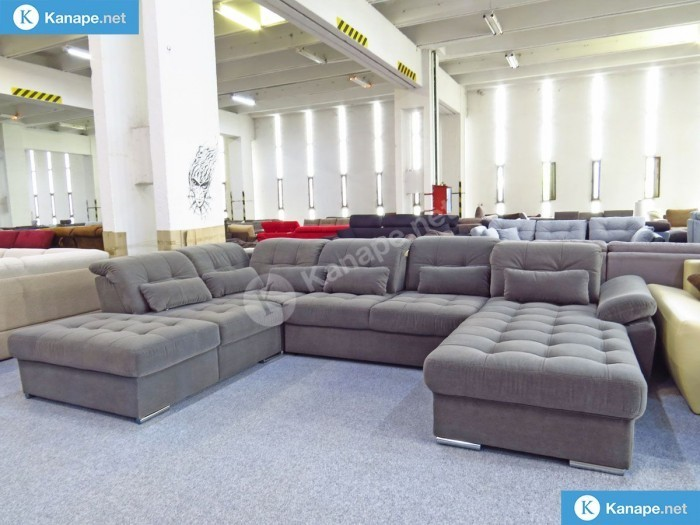 Delta U alakú relax ágyazahtó kanapé - Német import