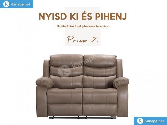Prime 2 személyes relax kanapé - Luxus kanapé