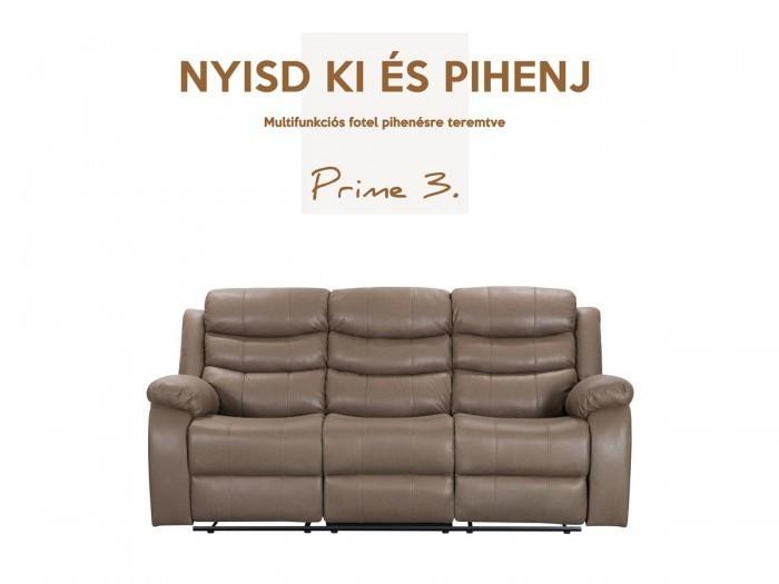 Prime 3 személyes relax kanapé - Összes termék