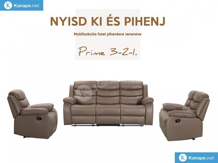 Prime 3-2-1 ülőgarnitúra szett - Luxus kanapé