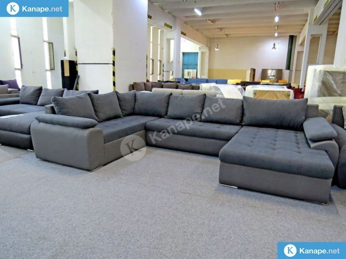 Celika U alakú kanapé - Sarokkanapék és ülőgarnitúrák