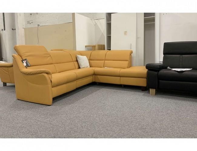 Curry Sarog valódi bőr TV relax kanapé