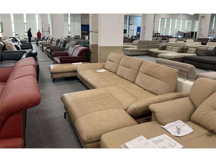 Pasadena valódi bőr relax kanapé - Sarokkanapé
