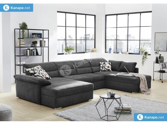 Como U alakú kanapé -
