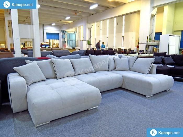 Donna U alakú ágyazható kanapé -