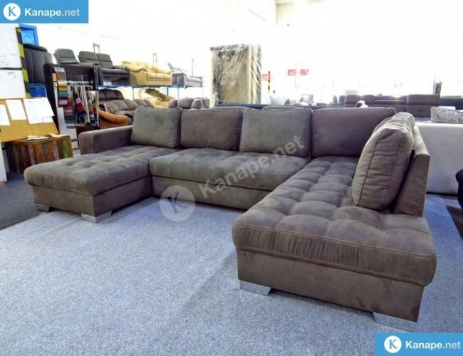 Nancy U alakú ágyazható kanapé