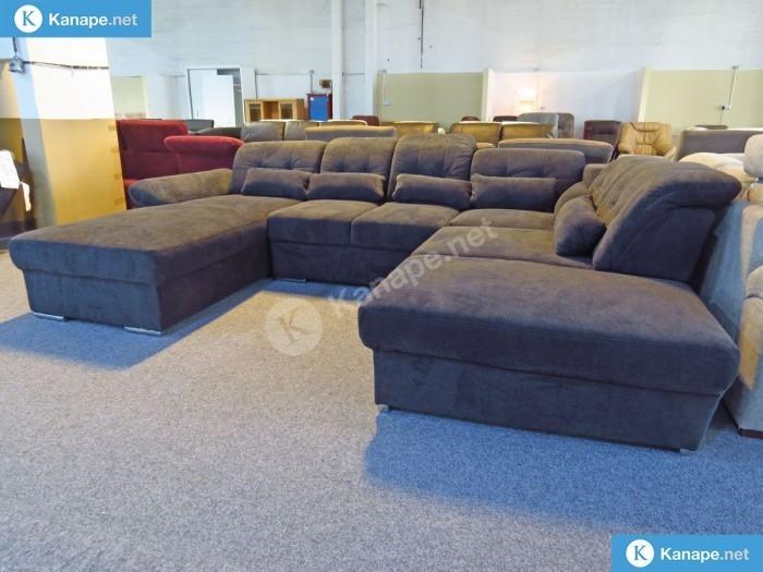 Nápols U formájú kanapé -