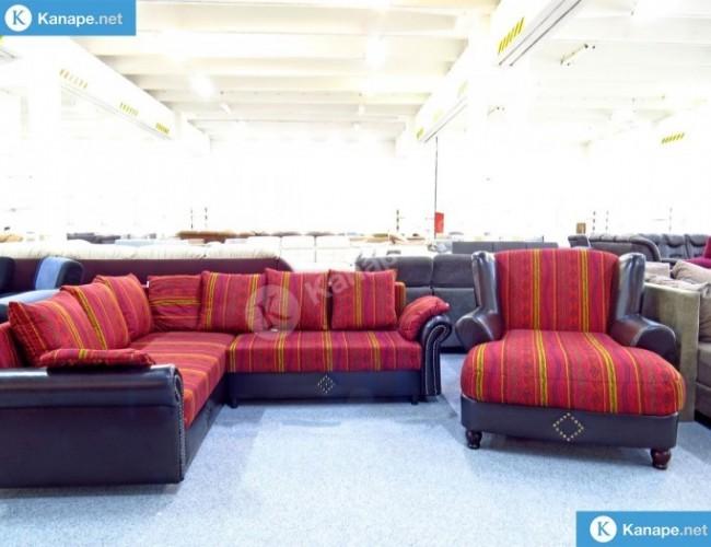 Nora sarokkanapé és fotel