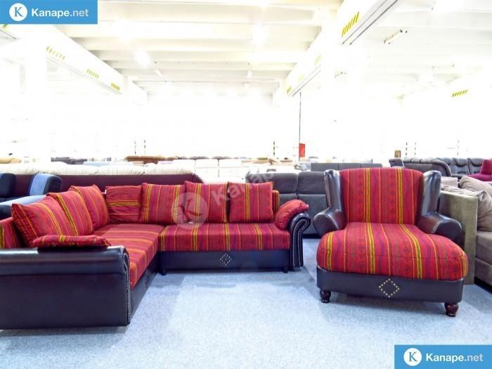 Nora sarokkanapé és fotel - Színes kanapék