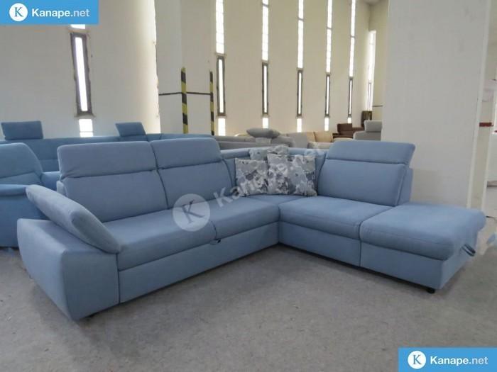 Olympia sarokkanapé - Kinyitható és ágyazható kanapék