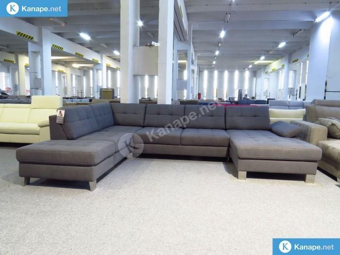 Puzzle U formájú ágyazható kanapé -