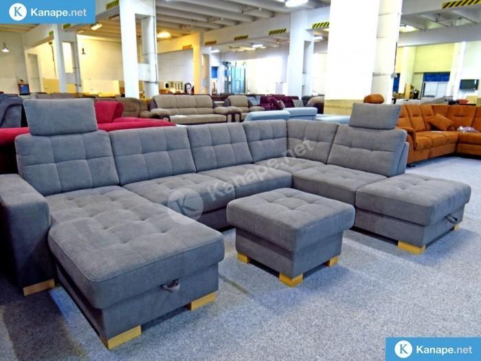 Quency U alakú ágyazható kanapé - Német import