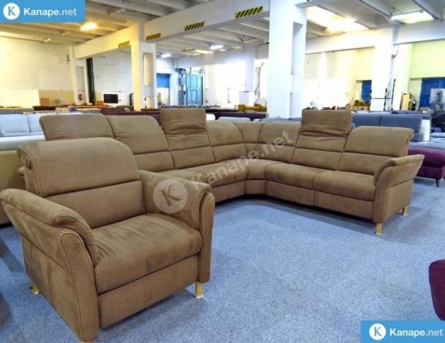 Relaxa sarokkanapé és fotel