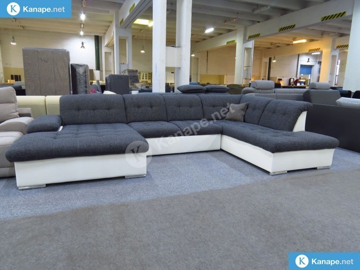 Rico U formájú ágyazható kanapé
