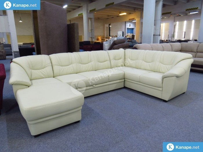 Savona U alakú textilbőr kanapé - Kanapé olcsón