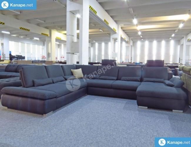 Sören U alakú ágyazható kanapé