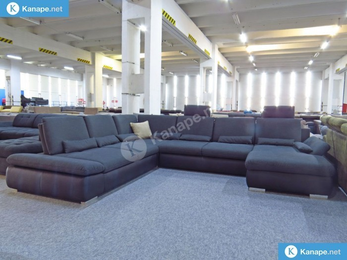 Sören U alakú ágyazható kanapé - U alakú kanapé