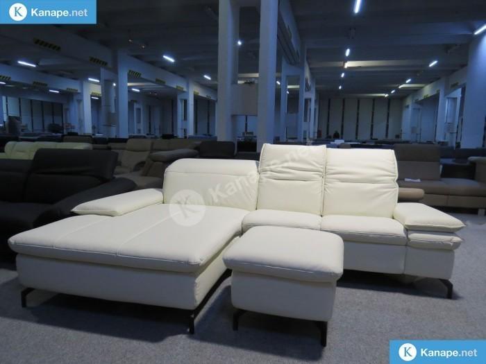 Tivoli bőr sarokkanapé és fotel - Összes termék