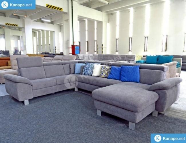 Urbino U alakú ágyazható kanapé