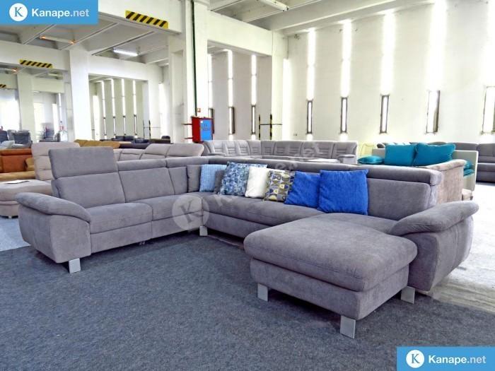 Urbino U alakú ágyazható kanapé - Német import