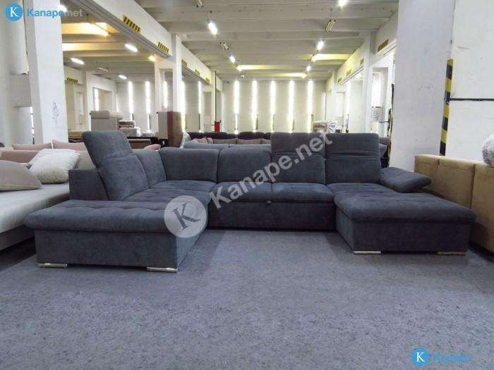 Wayne U alakú kanapé - Ülőgarnitúra