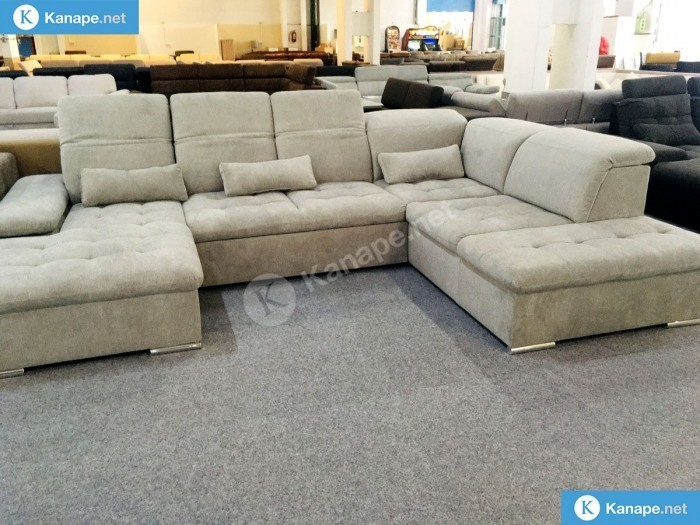 Wayne U alakú ágyazható kanapé - Német import