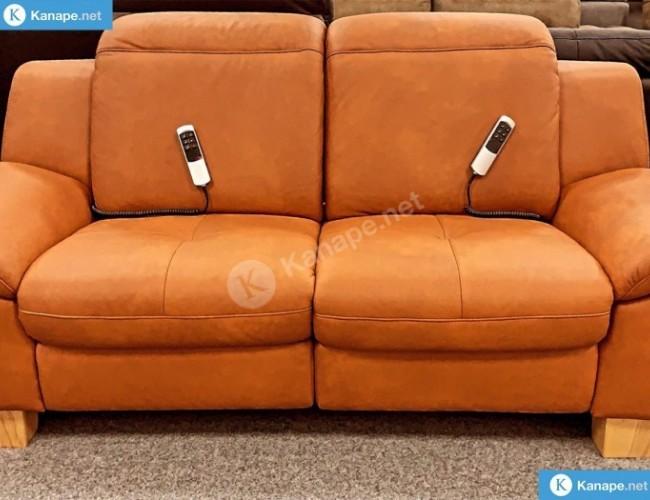 Barolo valódi bőr relax kanapé