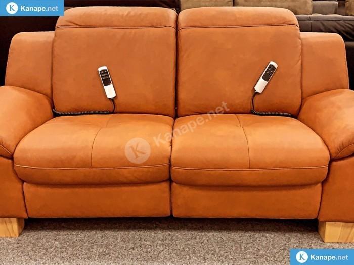 Barolo valódi bőr relax kanapé - Kisméretű kanapék