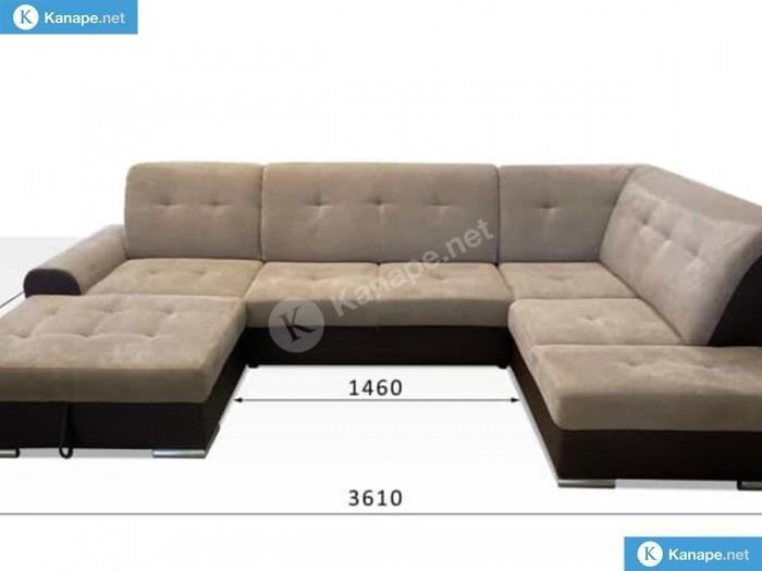 Bella U formájú kanapé - Összes termék