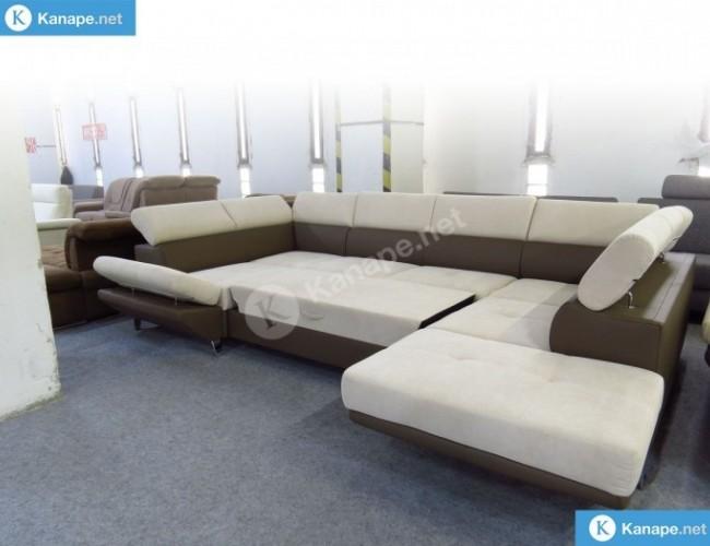 Asia U alakú kanapé