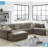 Como U alakú kanapé