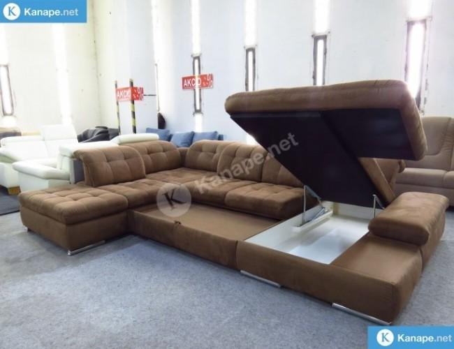 La Palma U alakú ágyazható kanapé