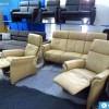 Lotus 3-1-1 bőr ülőgarnitúra relax fotellel