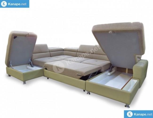 Sand U alakú kanapé