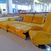 Torino bőr sarokkanapé és fotel