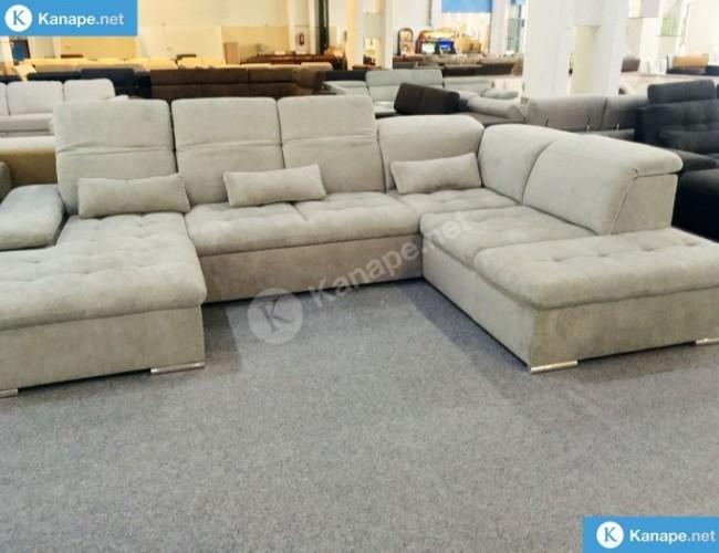 Wayne U alakú ágyazható kanapé