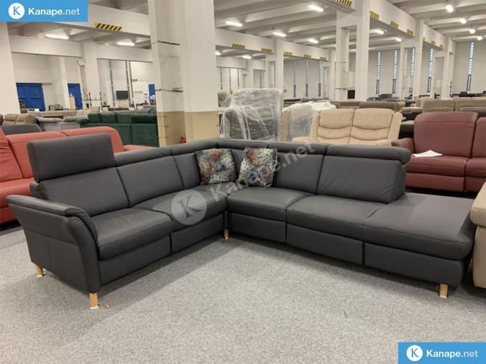 Doreen valódi bőr TX relax kanapé - Rendelhető kanapék