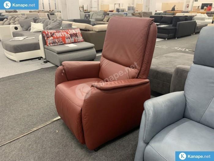 Isana relax fotel valódi bőrből - Német import